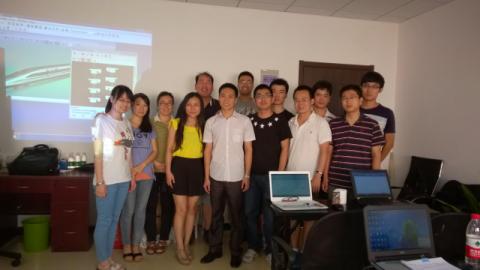 Training in Beijing 1