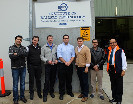 Training at Institute of Railway Technology
