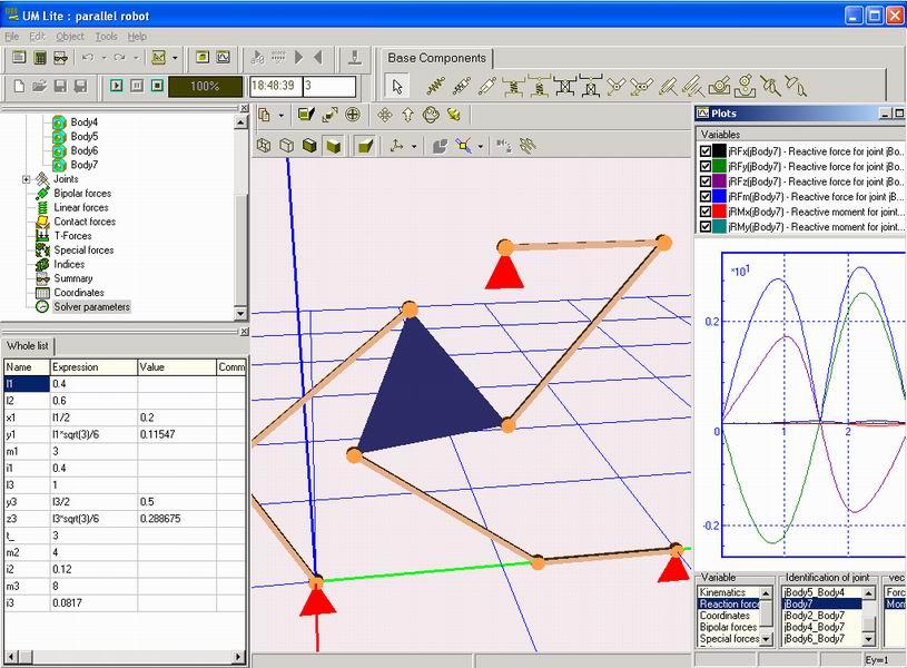 Программы кинематического моделирования